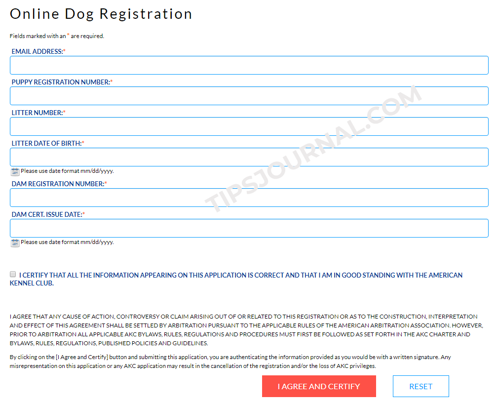AKC Registration Online | Guide to Dog Registration and